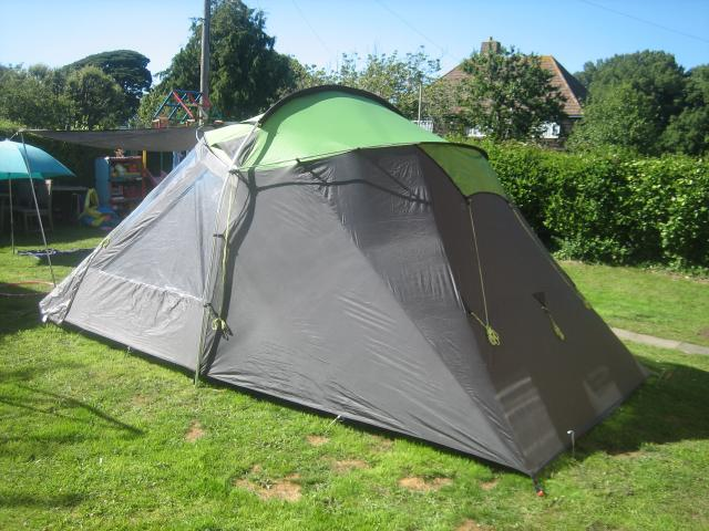 Now itu0027s described as a 5 man tent but in reality and for comfort its a 4. We used it primarily for weekends (LAndy Shows etc) as we had a much bigger ... & Lichfield Kiowa 5 Tent - LandyTown
