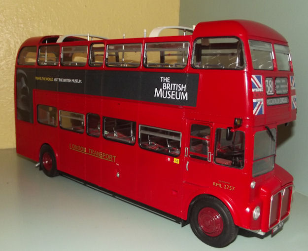 Revell   London Bus Build Review
