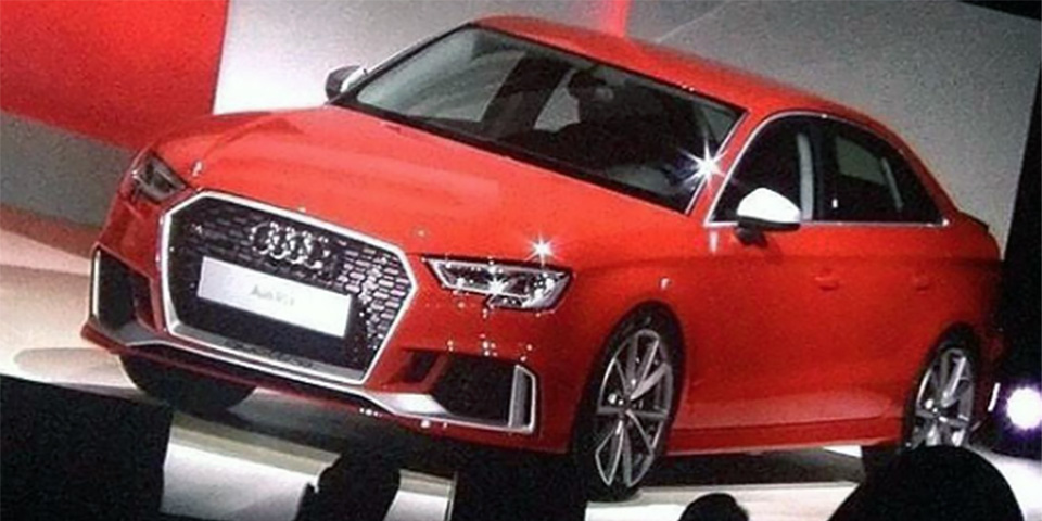 Rs3 Saloon Headed For The Usa Audisrs Com