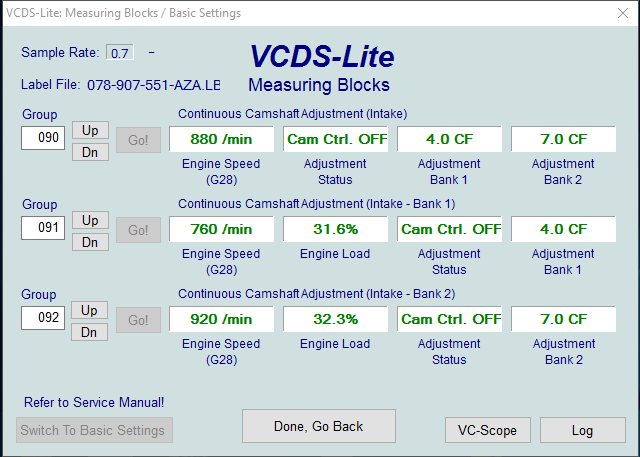 Cam Timing - Checking with VAG-COM? - Page 12 - AudiSRS com