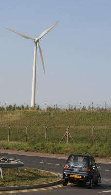Wind Turbine at Dagenham