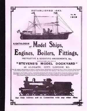 Stevens Model Dockyard Catalogue - The Unofficial Mamod